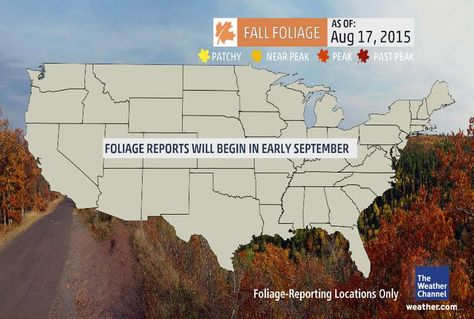 Us Fall Foliage Maps Show Were The Leaves Have Changed Travel
