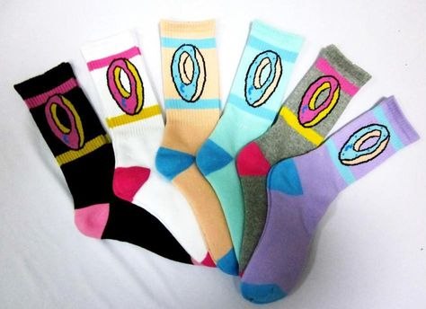 d1f65f0a9fdc Odd Future Socks High Quality Thicken Version Odd Future Donut Socks For Hip  Hop Girls Boys  Golf Wang - HUFF € 4
