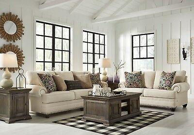 Ashley Furniture Harrietson Sofa And Loveseat Living Room Set Loveseat Living Room Cheap Living Room Sets Living Room Sets