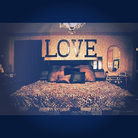 Want to get the wooden letters from hobby lobby and paint them for over my bed