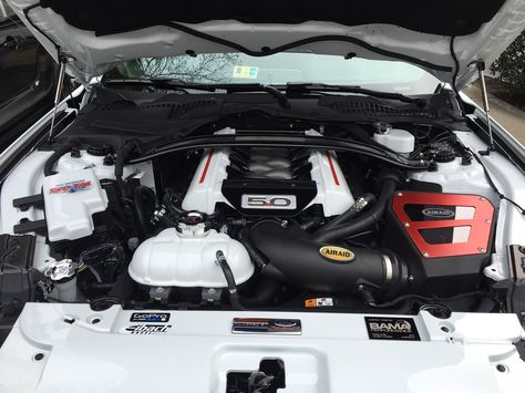 2016 Mustang Gt After Installing Air Raid Cold Air Intake Ford