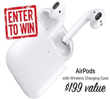 Enter To Win Free Apple Airpod Giveaway Apple Airpods 2 Wireless