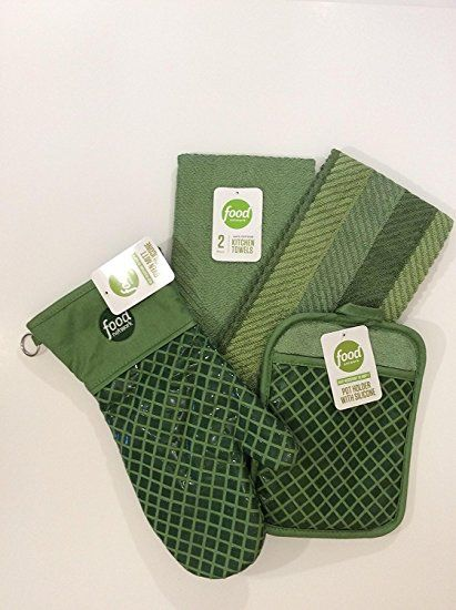 Food Network 2 Piece Antimicrobial Sculpted Kitchen Towels Oven