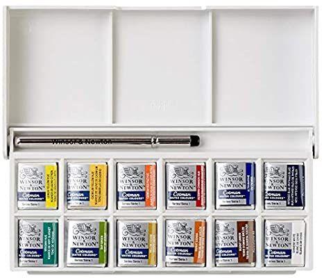 Winsor Newton Cotman Boite De Peinture Aquarelle En Plastique