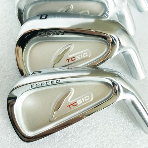 New mens Golf head FOURTEEN TC510 FORGED Golf irons head set 4-9.P Irons clubs head no Golf shaft  Free shipping