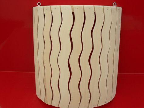 Lampenschirm Holzblendschirm Sauna-lampenschirm Sauna  Saunaleuchte,Neu,vlasve