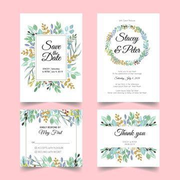Menu Perkahwinan Jemputan Perkahwinan Daun Semula Jadi Wedding Invitation Sets Wedding Invitations Wedding Invitations Leaves