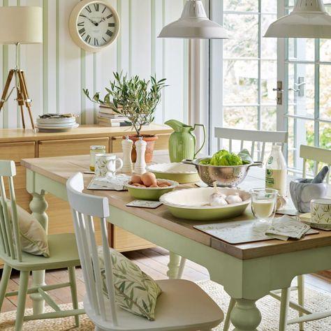 Comedores de estilo por laura ashley decoración , rústico ...