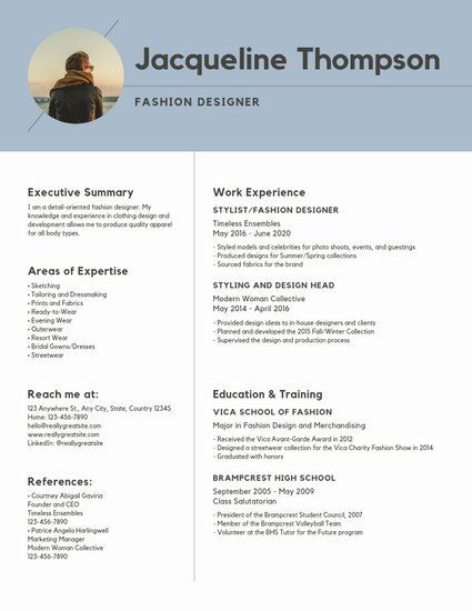 Update Your Resume With Canva S Free Pre Made Templates Modern Resume Template