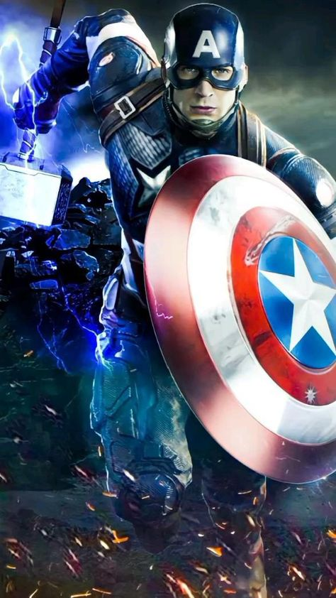 Avengers - Captain America Lifting  Mjolnir / Randall - Wahran  Song Edit
