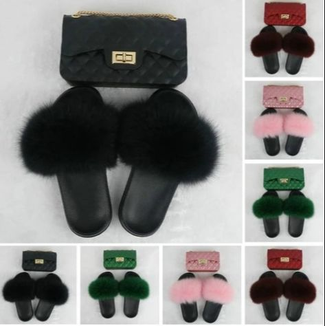 Black Furry Slides with Matching Color Chain Strap Purse F737 DM for wholesale price 😍#wholesale #sample #customized #logo  💝No Moq  🔥No licensed needed 💰Support PayPal and credit card  💃We also have Dresses, Tops, Pants  Accessories.☑ Get Yours!  #wholesale #vendor #wholesalefurslides #furslippers #clothingvendor 💝Customized logo just 10pcs to start