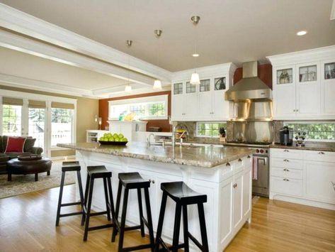 l shaped island kitchen layout island kitchen layouts lux l ...