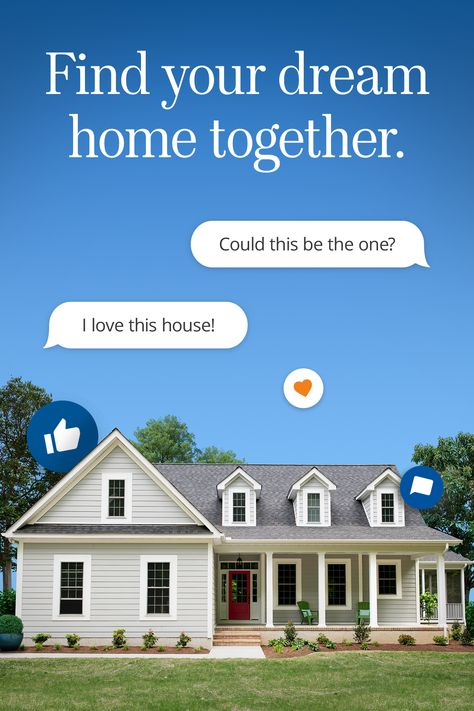 Search, chat & find your new home together with Homes.com HomeShare.