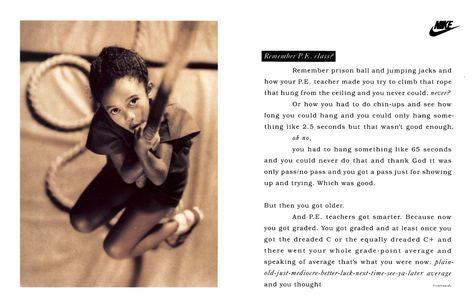 9 best Janet Champ, Copywriter images on Pinterest | Nike women, Print  advertising and Women nike