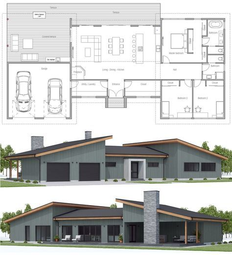 Floor Plans Floorplans Dwell Home Residential Architecture Container House Plans House Floor Plans