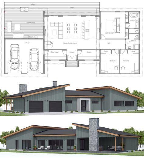 Floor Plans Floorplans Dwell Home Residential Architecture Dream House Plans House Floor Plans