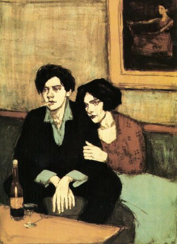 artist: Malcolm Liepke: Hand Pulled Lithograph - Alone Together Malcolm Liepke, Figure Painting, Painting & Drawing, Figurative Kunst, Fine Art, American Artists, Art For Sale, Art Inspo, Printmaking