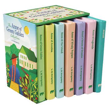 The Anne Of Green Gables Collection 7 Book Box Set Livros