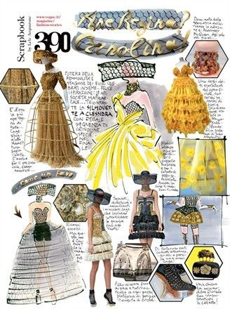 Lele Acquarone, Vogue Italia, March n.