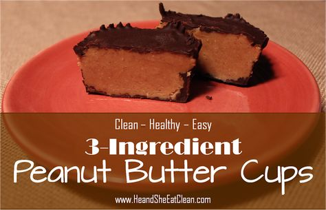 Clean Peanut Butter Cups