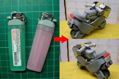 Kreasi Dari Korek Api Gas Bekas Gadget Kreatif Teknologi