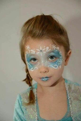 Frozen Mask Frozen Mask En 2020 Caras Pintadas Disenos De Pintura De La Cara Maquillaje Artistico