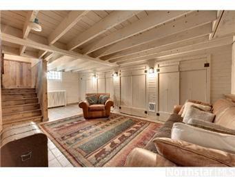 DIY Painted Basement Ceiling Project Basement Ceilings - Finish basement ceiling