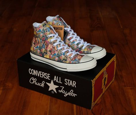 Converse CT All Star 100th Anniversary x One Piece Hi