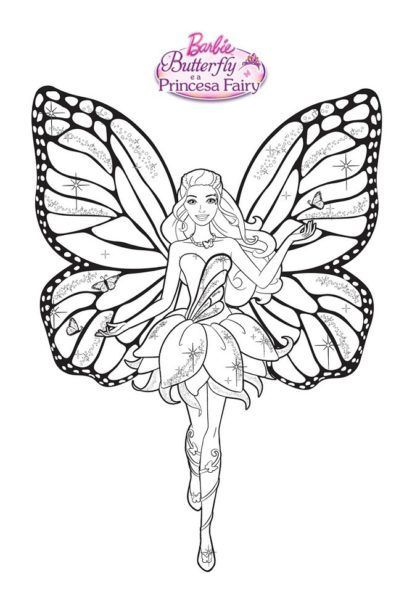 Desenhos Para Colorir Da Barbie Fada Barbie Coloring Pages Fairy Coloring Pages Barbie Coloring