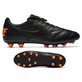 buy popular e855b 2bce3 ... nike premier ii fg soccer shoes (black total orange) https