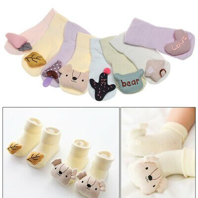 Anti-slip Sole Toddler Ankle Hosiery Baby Shoes Flats Soft Slippers Floor Socks