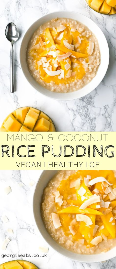 This rice pudding is so delicious... Just like your grandmas but healthier, lighter and more sophisticated! Vegan, gluten free & no refined sugar!