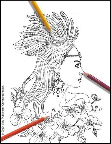 Pin On Wild Fantasm Adult Coloring Book