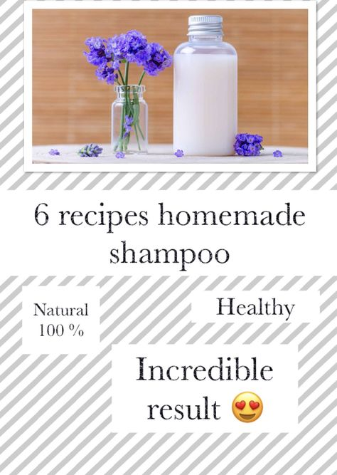 You want to prepare your natural shampoo because you do not want to damage your hair anymore? the best way to have healthy, shiny and healthy hair in a natural way!