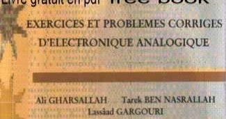 Livre Exercices Et Problemes Corriges D Electronique Analogique Pdf French Classroom Circuit Scientific Poster
