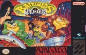 Battletoads In Battlemaniacs Snes Rom Download Super Nintendo