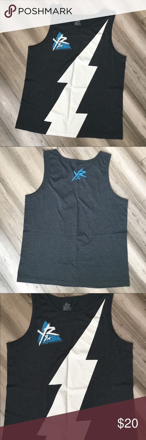 a571dd05cc9ee Young And Reckless Men s Tank Top Size Large Young And Reckless Tank Top  Size Large Men s