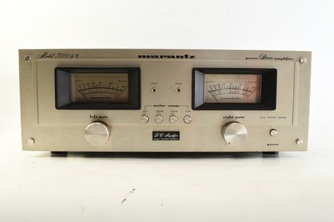 vintage marantz 300 dc power amplifier tested and working manual rh pinterest com