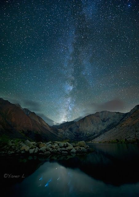Into The Night Photography Yan Larsen Alone Under The Stars Night Landscape Photography Night Landscape Night Sky Photography