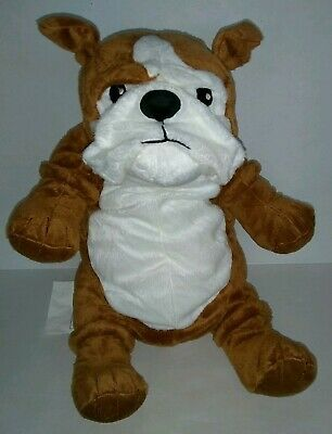 Details About New Ikea Bulldog Klappar Plush Soft Toy 17 In Brown