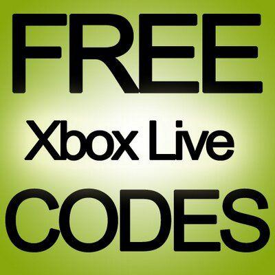 Generateur De Code Xbox Live Code Xbox Live Gratuit Xbox Live Xbox Coding