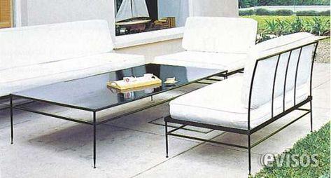 Fotos De Muebles En Fierro Forjado Esilo Indusrial Andres