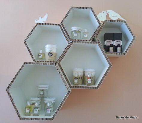 Meubles Carton M Oz Lyon Make Up Beaute Bio Concept Store Shopping Bricolages En Carton Objet En Carton Mobilier En Carton