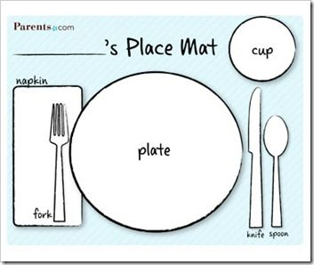 sc 1 st  Pinterest & Dry Erase Printable Placemats | Placemat Plays and Craft