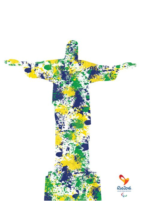 Promotional material for the 2016 Olympic  Paralympic games in Brazil - Rio De Janeiro.