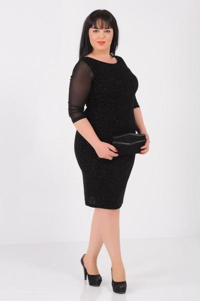 Buyuk Beden Tul Kol Simli Buyuk Beden Siyah Elbise Deri Moda Alisveris Aksesuar Abiye Giyim Bayangiyim Muhafaza Siyah Elbise Elbise Elbise Modelleri