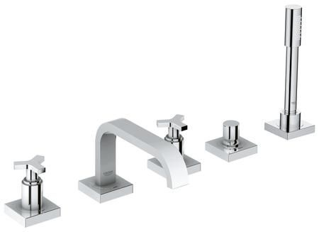 25083001 Allure Five Hole Bathtub Faucet With Handshower In