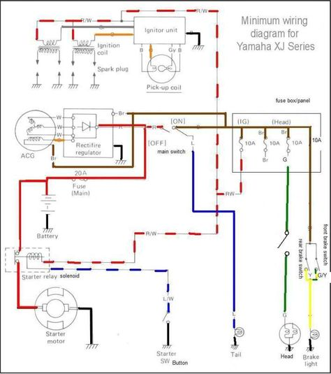 c70d05f5b200ba72ef58165333df8d9e xj bobber chopper xs650 wiring diagram motorcycle wiring diagrams pinterest sr400 wiring diagram at honlapkeszites.co
