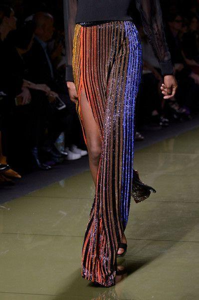 Balmain at Paris Fashion Week Spring 2017 - Women Style