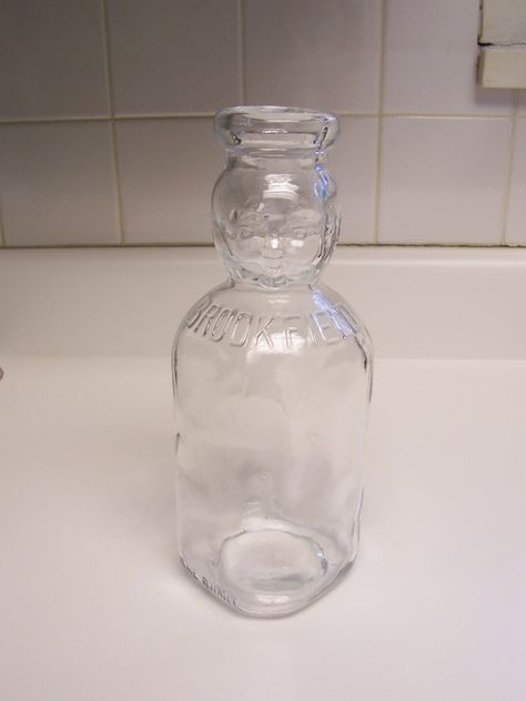Brookfield baby top milk bottle glass milk bottle with by msink
